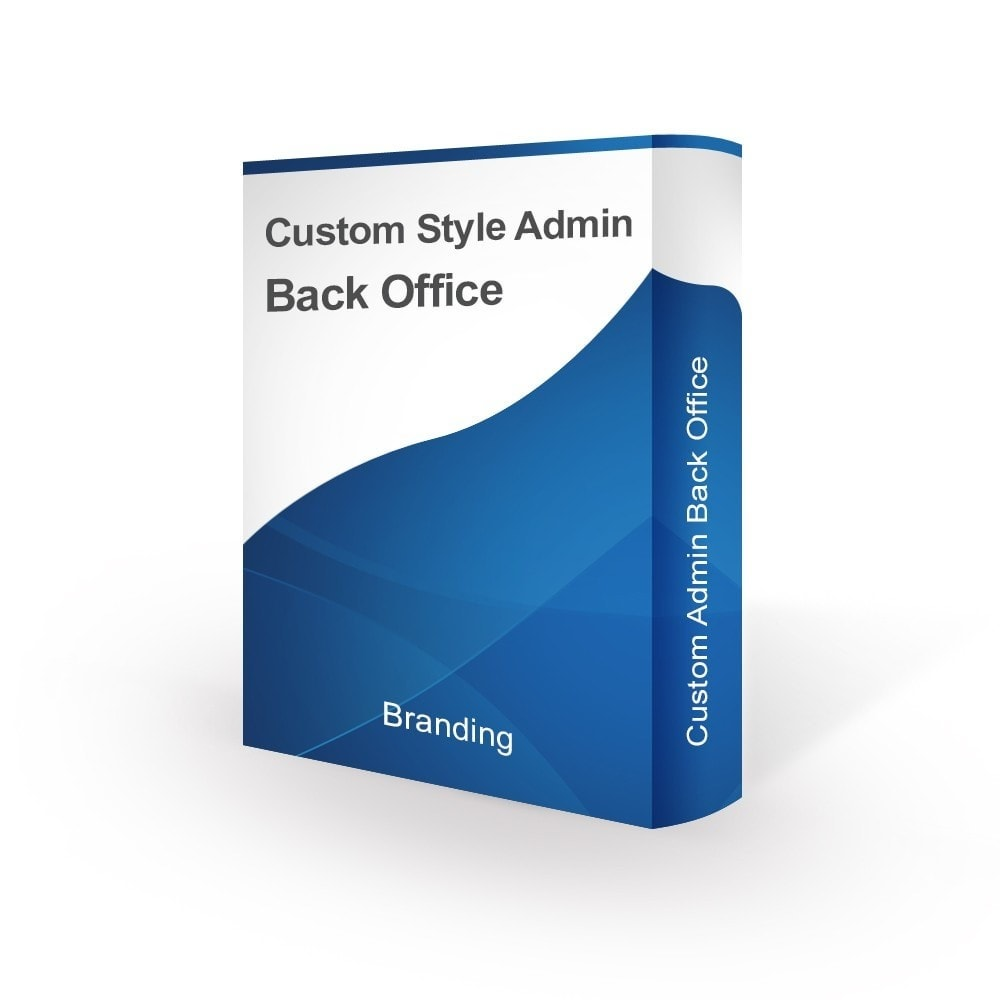 module - Personalizzazione pagine - Design Style for Admin Back Office and Login Page - 1