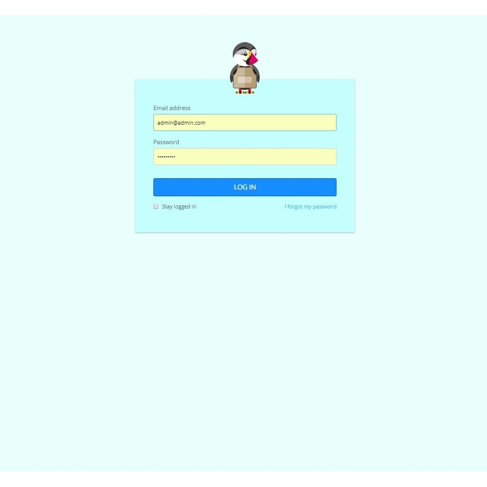 module - Personalización de la página - Design Style for Admin Back Office and Login Page - 6