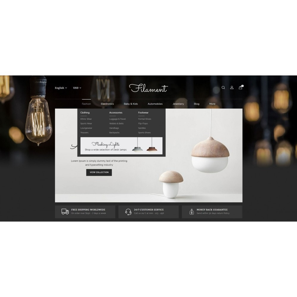 theme - Maison & Jardin - Filament - Lighting Store - 6