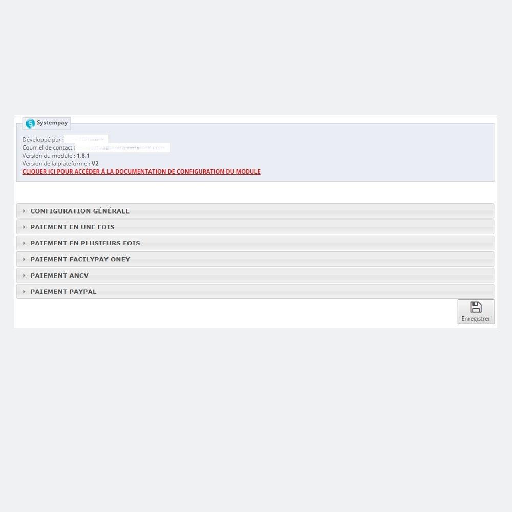 module - Paiement par Carte ou Wallet - Caisse d'Epargne - SystemPay - 2