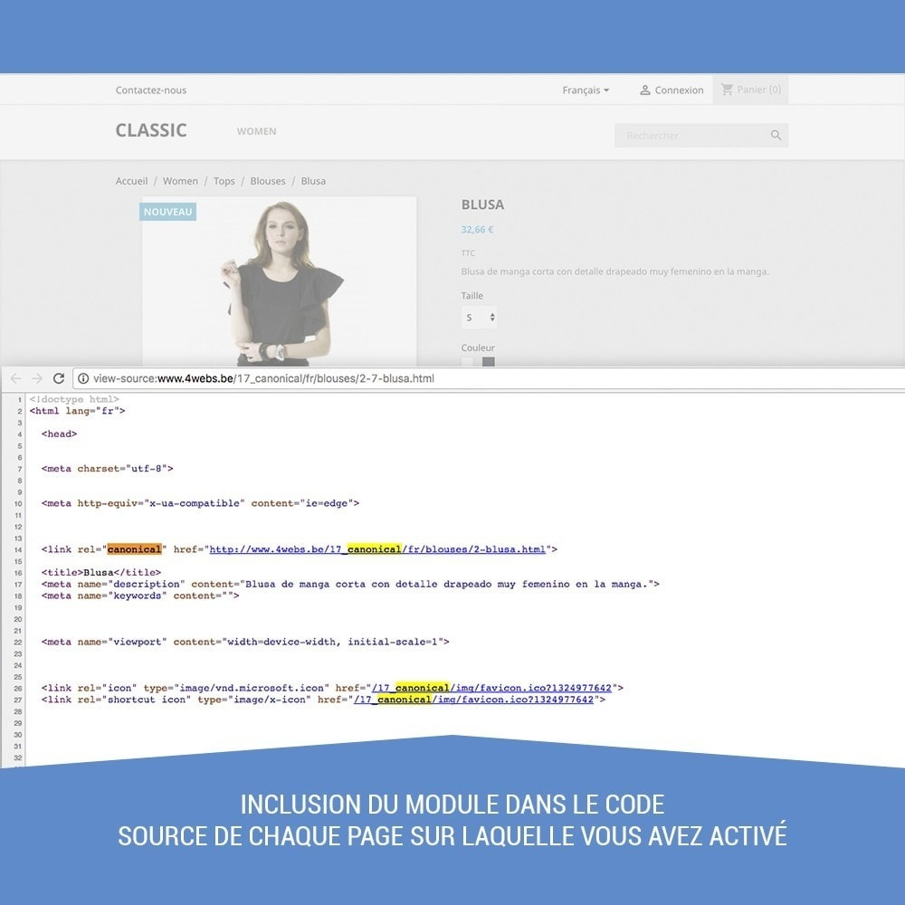 module - URL & Redirections - Canonical SEO - 5