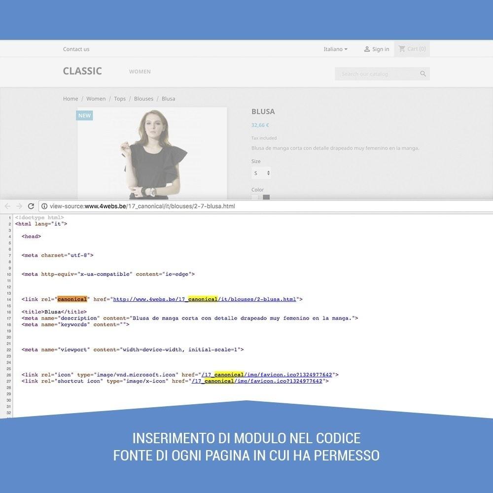 module - URL & Redirect - Canonical SEO - 5