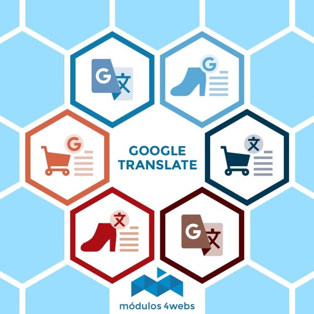 module - International & Localisation - Google Translate Block - 1
