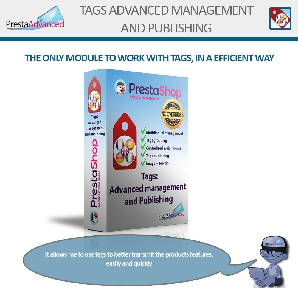 module - Odznaki & Logo - Tags: Advanced Management and Publishing - 1