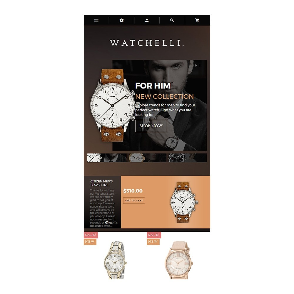 theme - Moda & Obuwie - Watchelli - Luxury Watches Store - 9