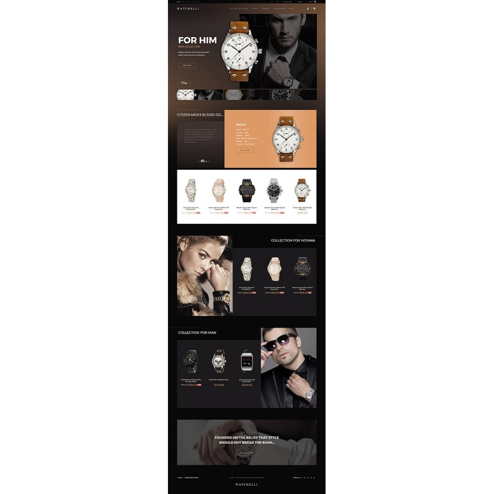 theme - Moda & Obuwie - Watchelli - Luxury Watches Store - 10