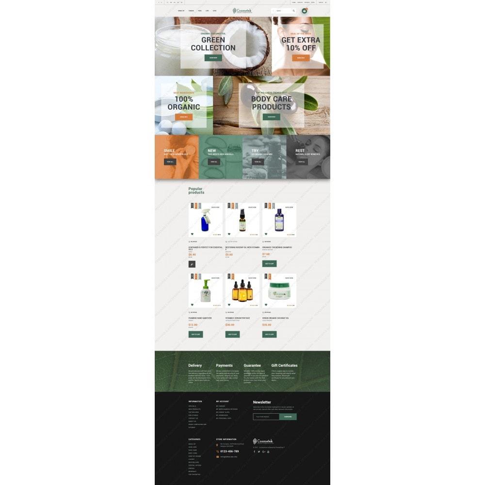 theme - Mode & Schuhe - Cosmetek - Organic Cosmetics Store - 5