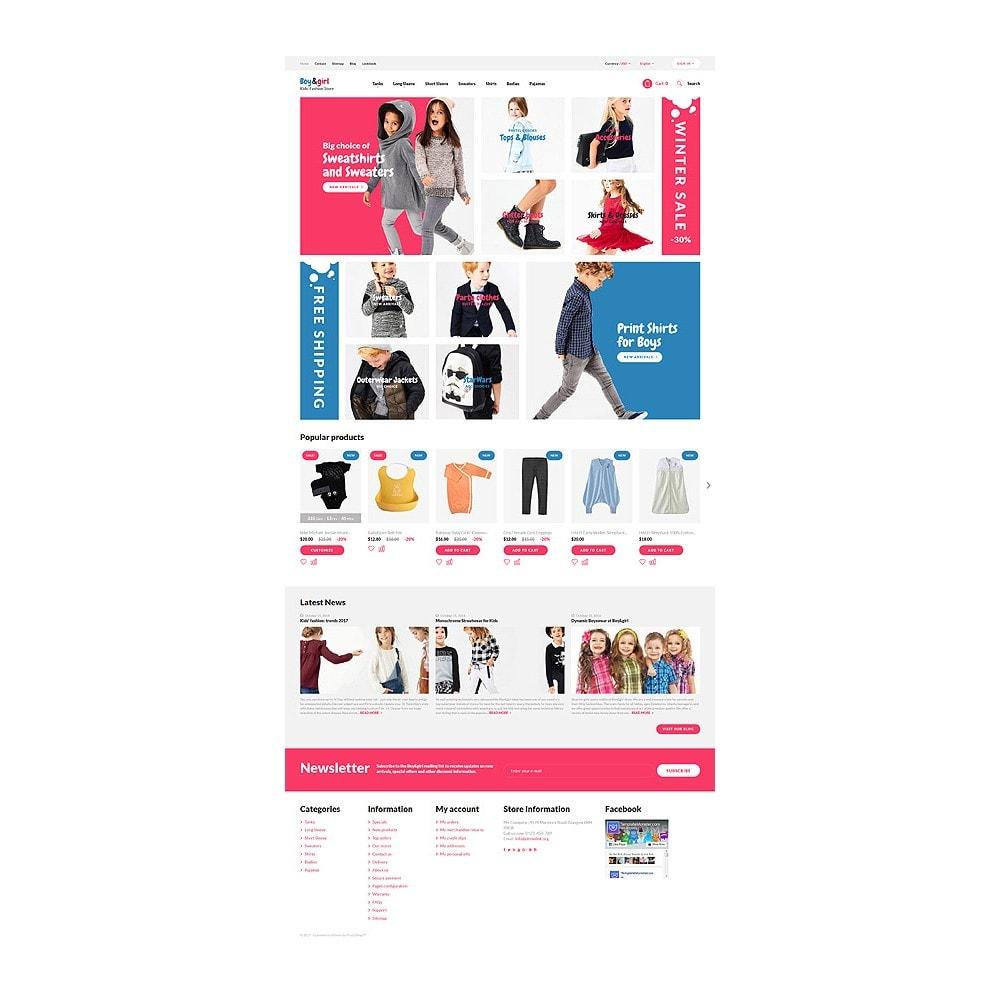 theme - Casa & Giardino - Boy&Girl - Kids Fashion Responsive - 10