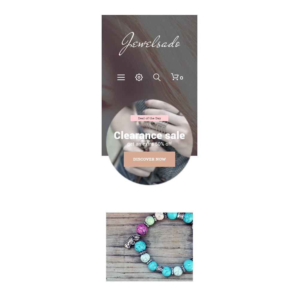 theme - Мода и обувь - Jewelsado - Jewelry Template - 8