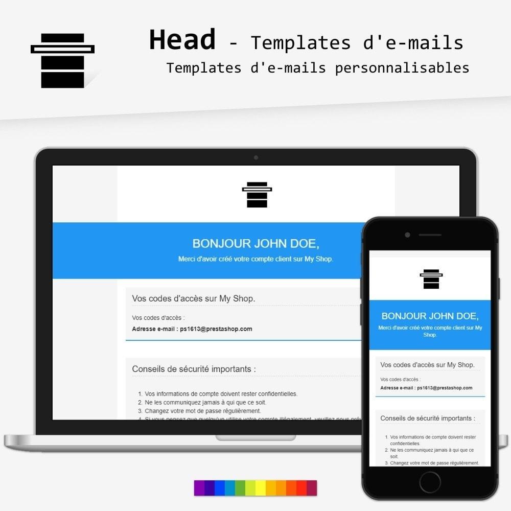 Head - templates d'e-mails