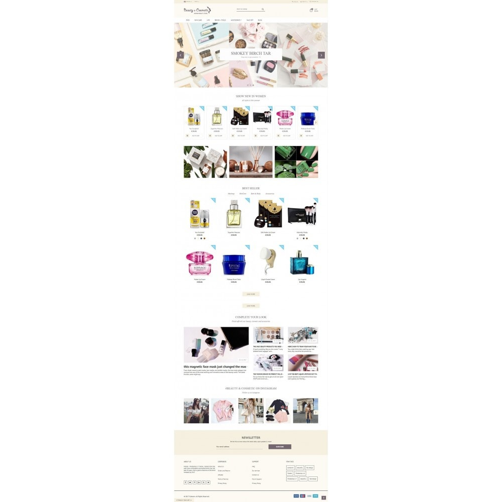theme - Santé & Beauté - Beauty and Cosmetic store - 2