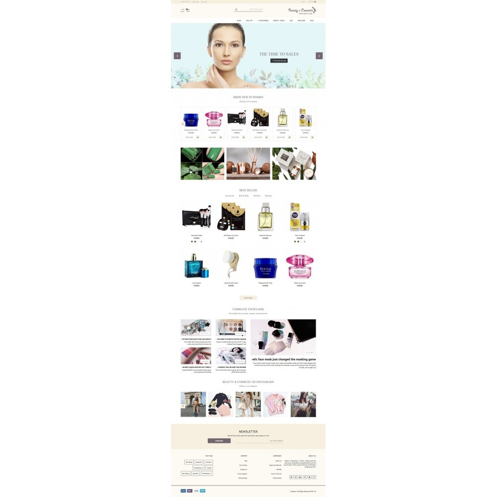 theme - Saúde & Beleza - Beauty and Cosmetic store - 3