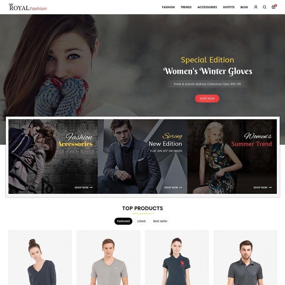 theme - Moda y Calzado - Royal Fashion Store - 2