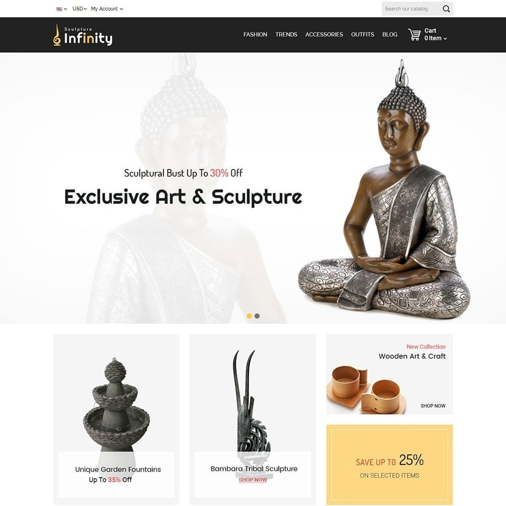theme - Art & Culture - Infinity Sculpture Store - 2