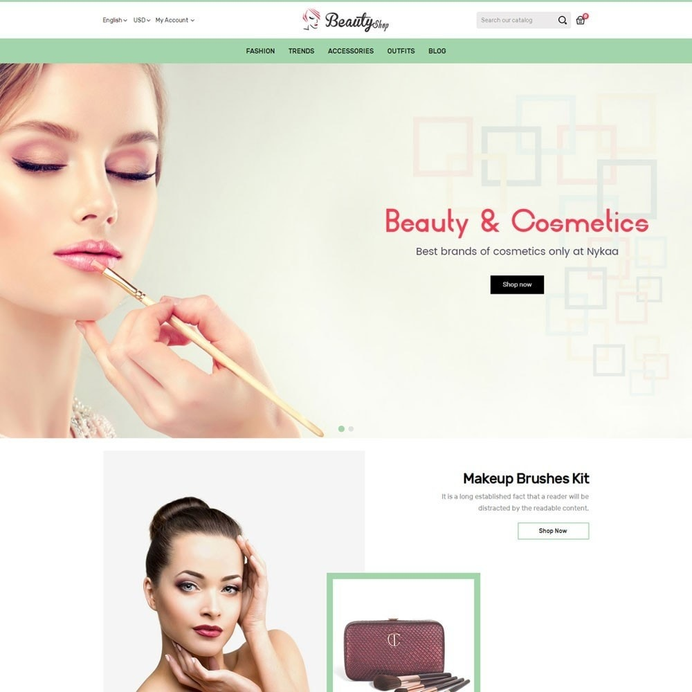 theme - Health & Beauty - Beauty Shop - 2