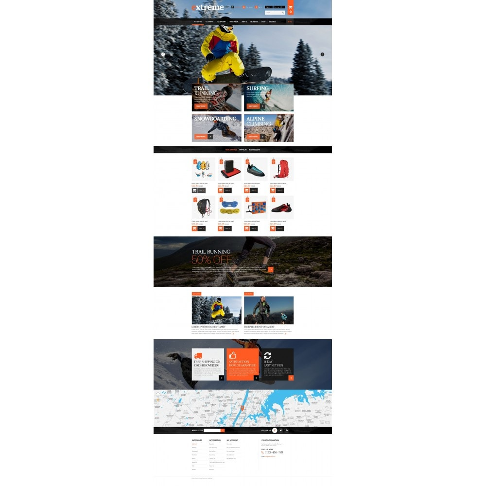 theme - Sport, Loisirs & Voyage - Extreme Clothes & Gear - 4