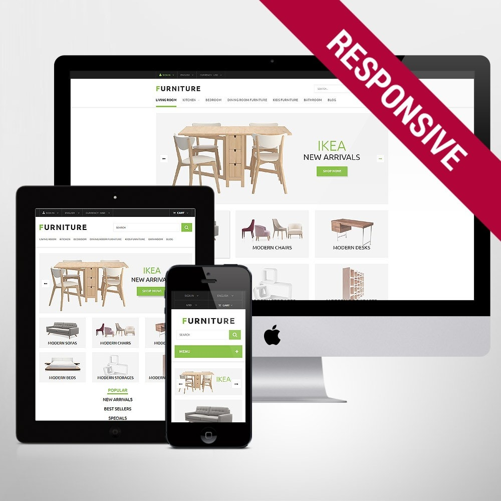 theme - Kultura & Sztuka - Furniture Store - 1