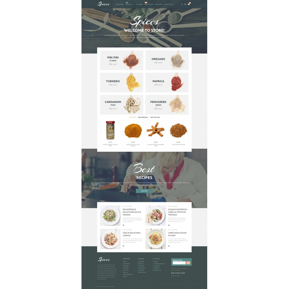 theme - Eten & Restaurant - Spice Shop - 4
