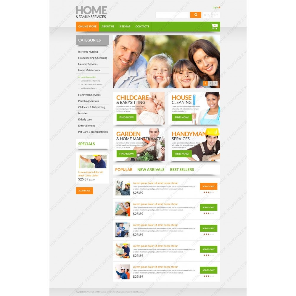 theme - Maison & Jardin - Home & Family Services - 3