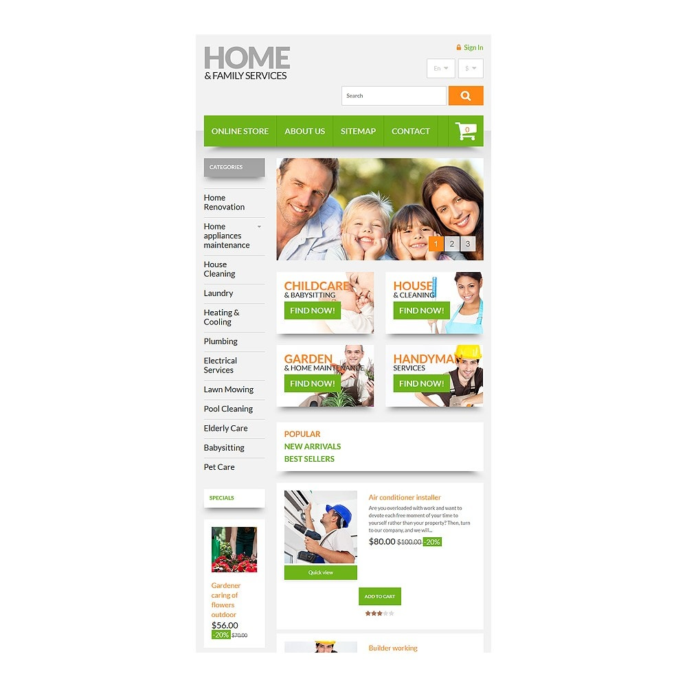 theme - Maison & Jardin - Home & Family Services - 7