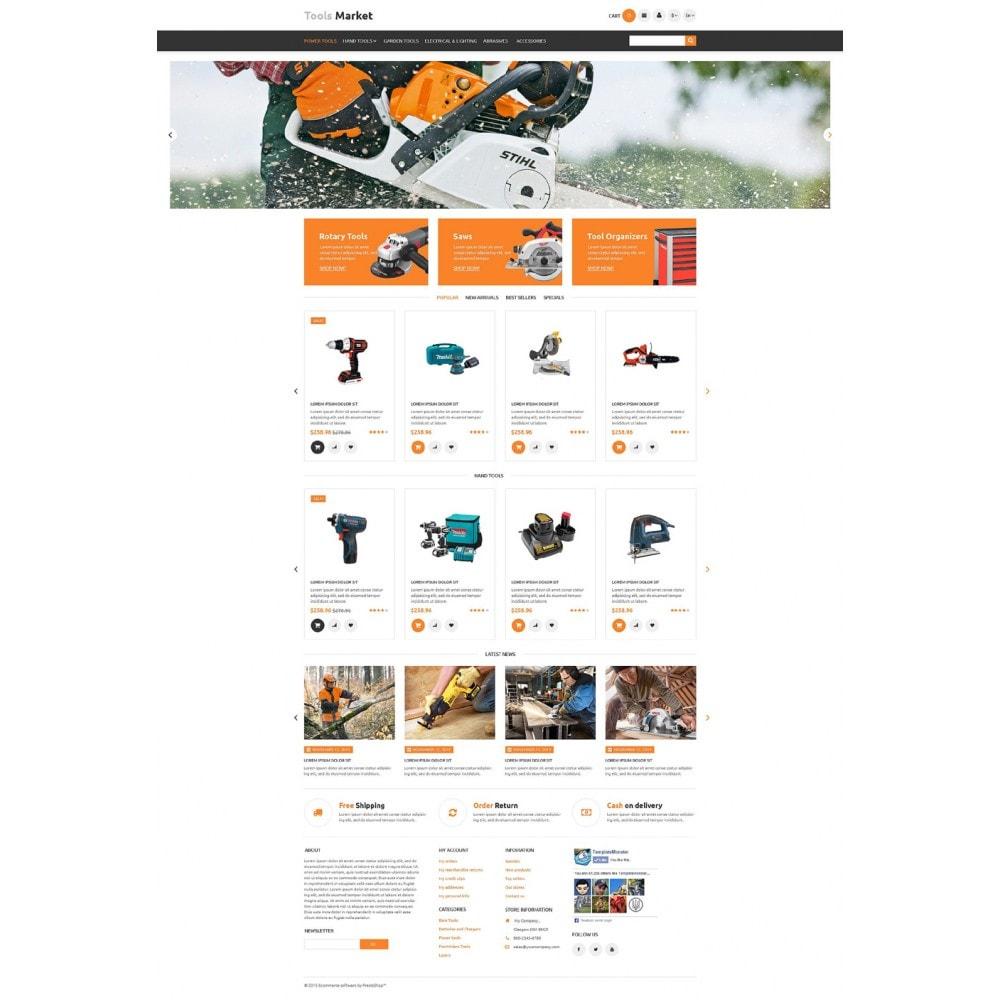 theme - Dom & Ogród - Tools Market - 2