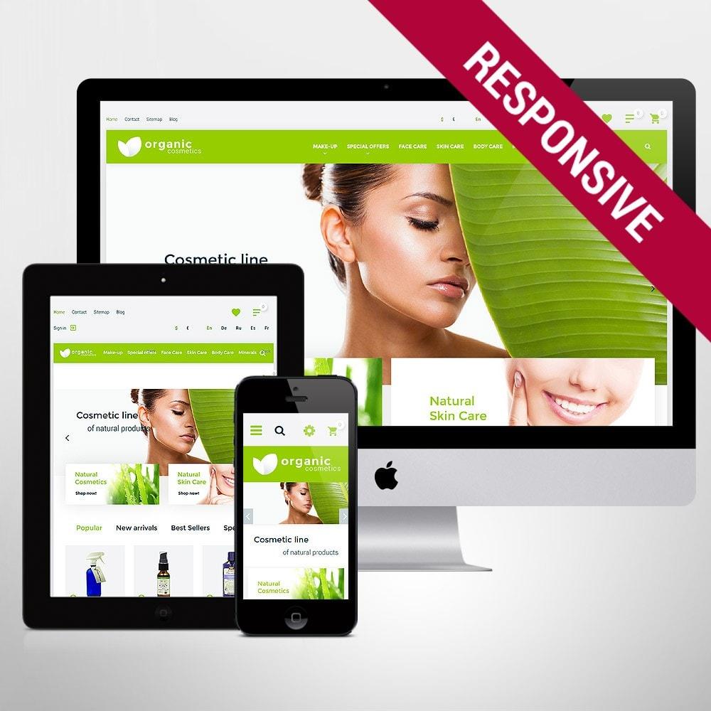 Organic cosmetics - responsive