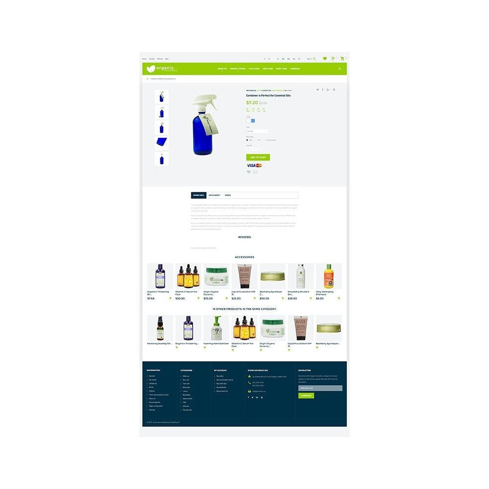 theme - Мода и обувь - Organic cosmetics - responsive - 7