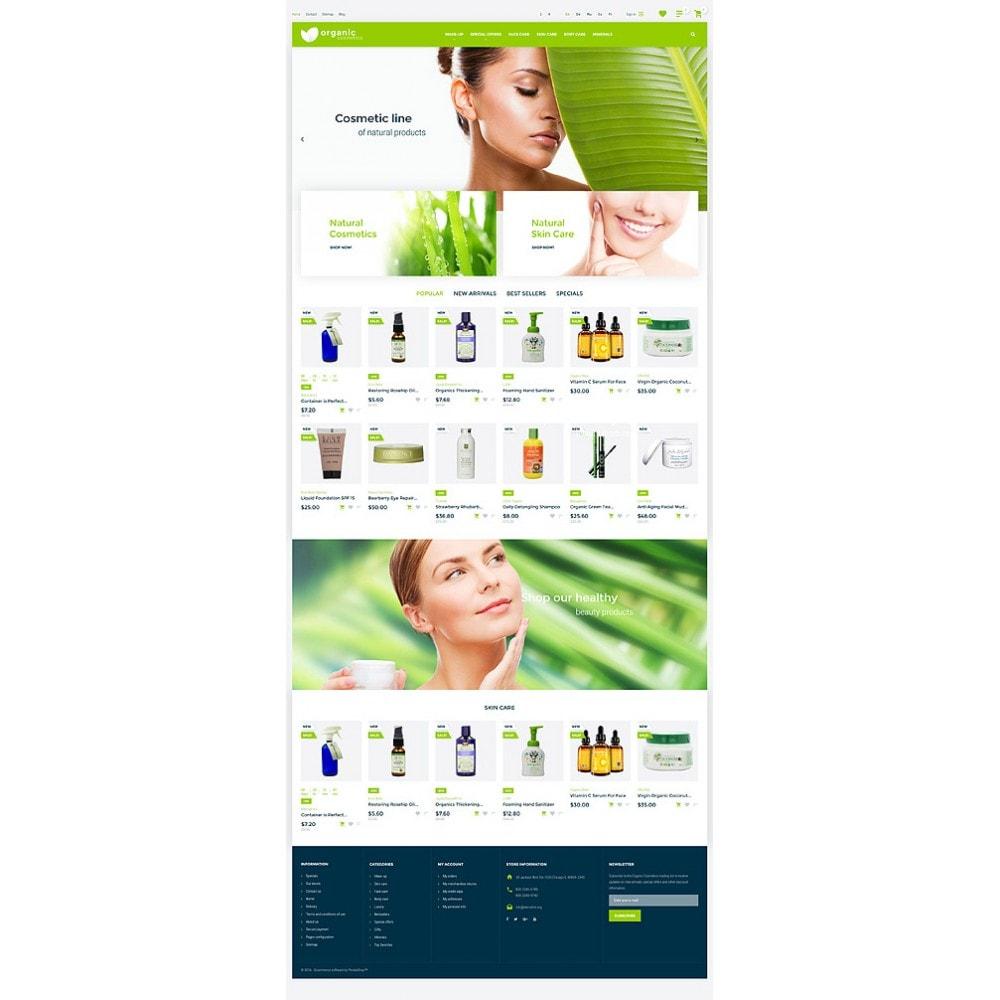 theme - Мода и обувь - Organic cosmetics - responsive - 10