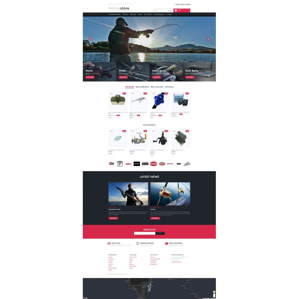 theme - Sports, Activities & Travel - Fishing Store - 4