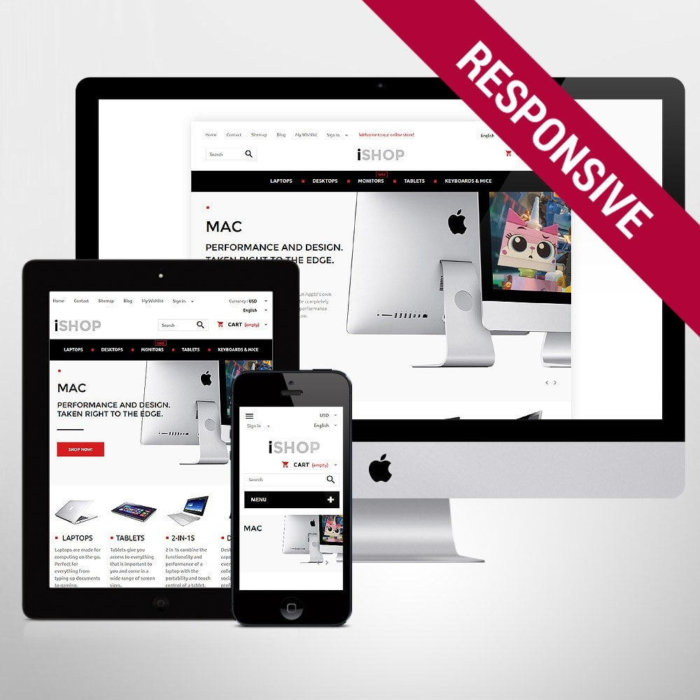 theme - Elettronica & High Tech - iShop - 1