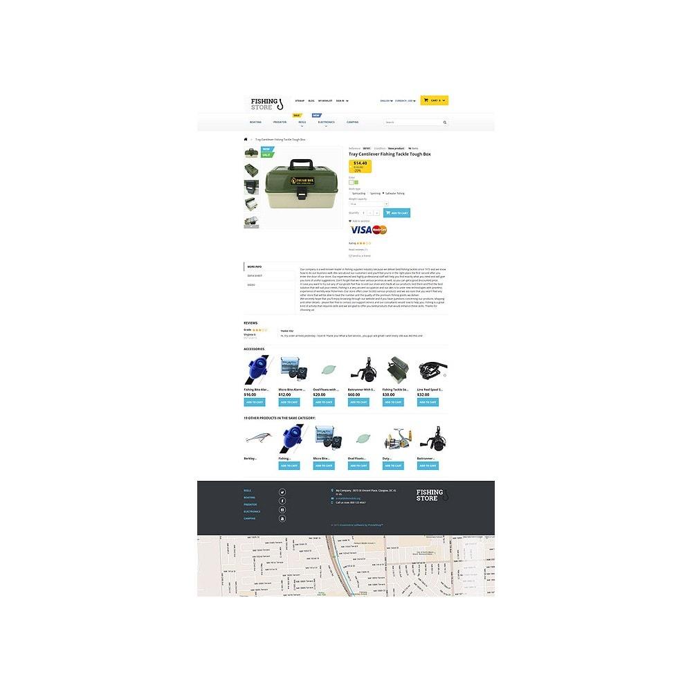 theme - Sport, Rozrywka & Podróże - Fishing Store - 6