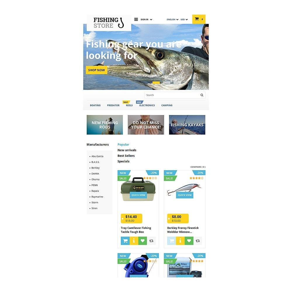 theme - Спорт и Путешествия - Fishing Store - 7