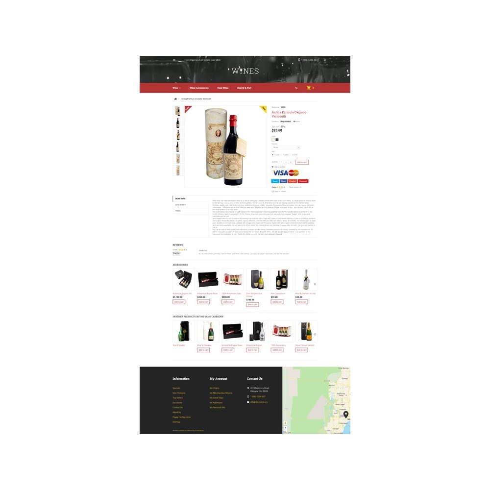 theme - Lebensmittel & Restaurants - Wines - 6