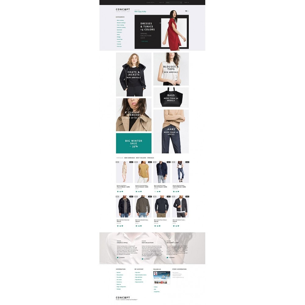 theme - Mode & Schuhe - Concept - Apparel Template - 10