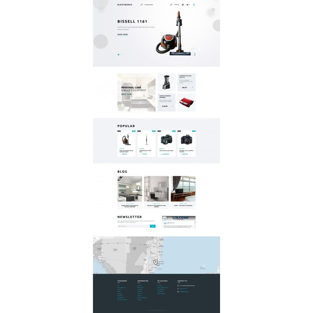 theme - Elektronika & High Tech - White Electronics Store PrestaShop Theme by ArtVertex - 4