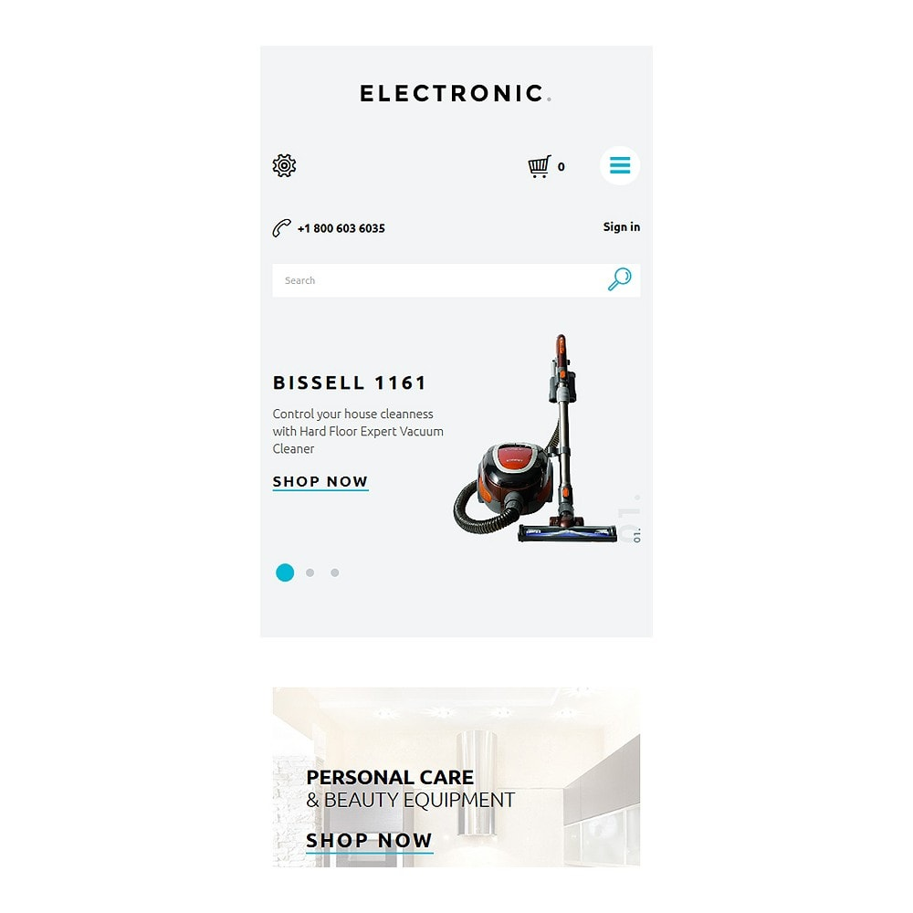 theme - Elektronika & High Tech - White Electronics Store PrestaShop Theme by ArtVertex - 8
