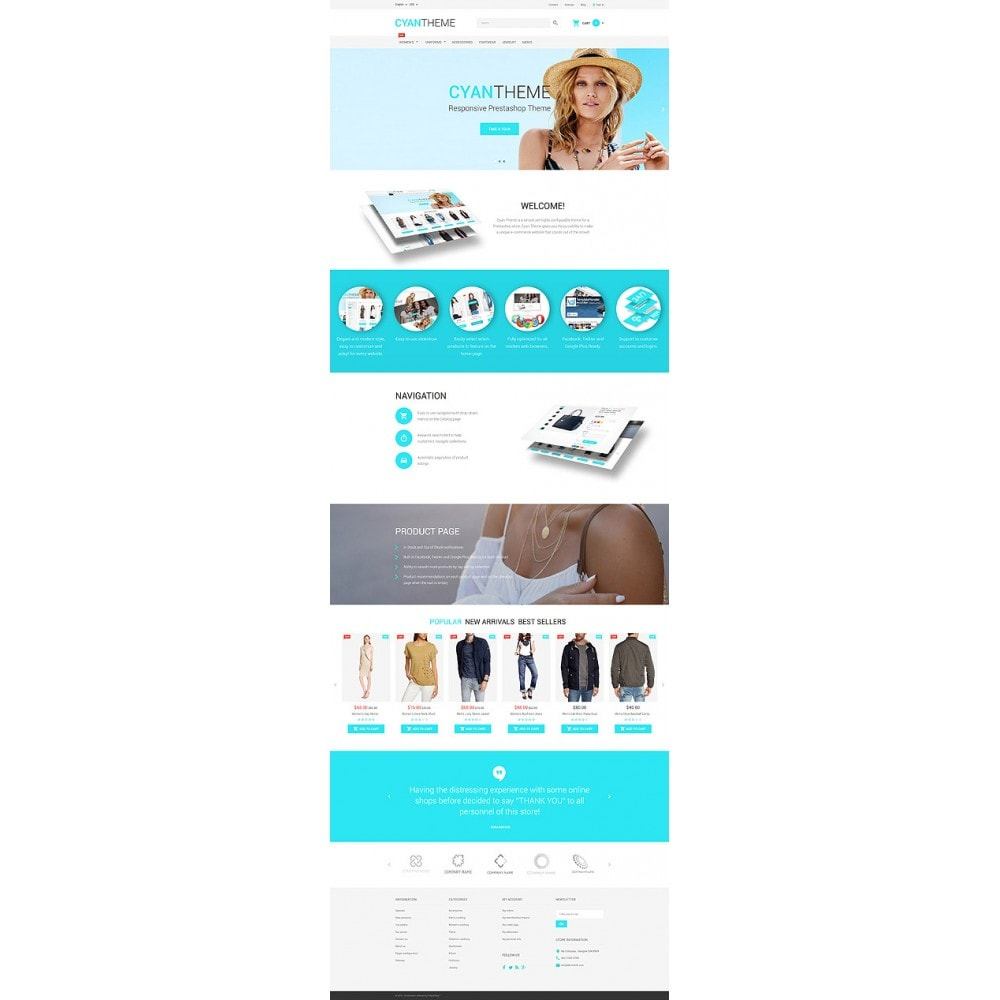 theme - Moda & Calzature - CyanTheme - 10