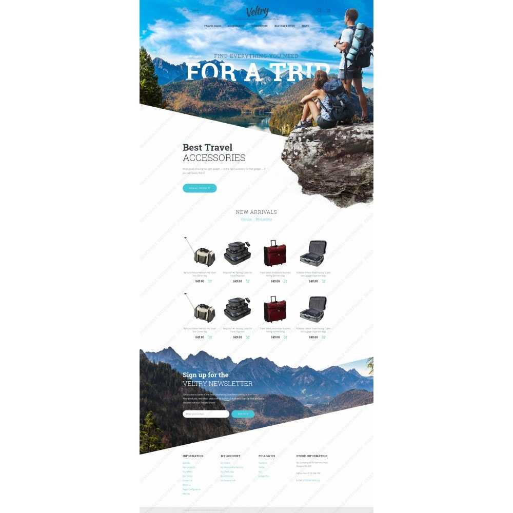 theme - Deportes, Actividades y Viajes - Veltry - Travel Store - 3