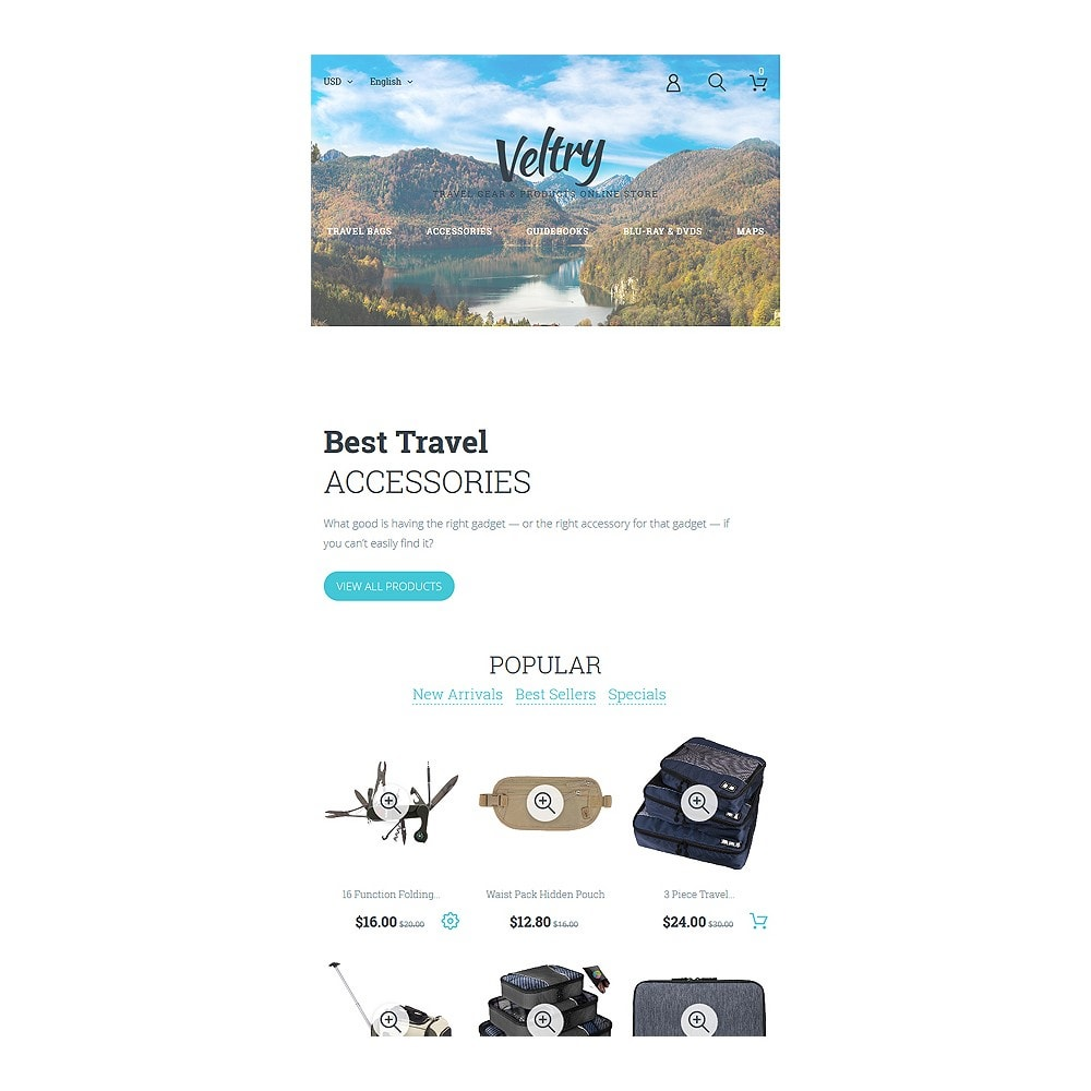 theme - Sports, Activities & Travel - Veltry - Travel Store - 7