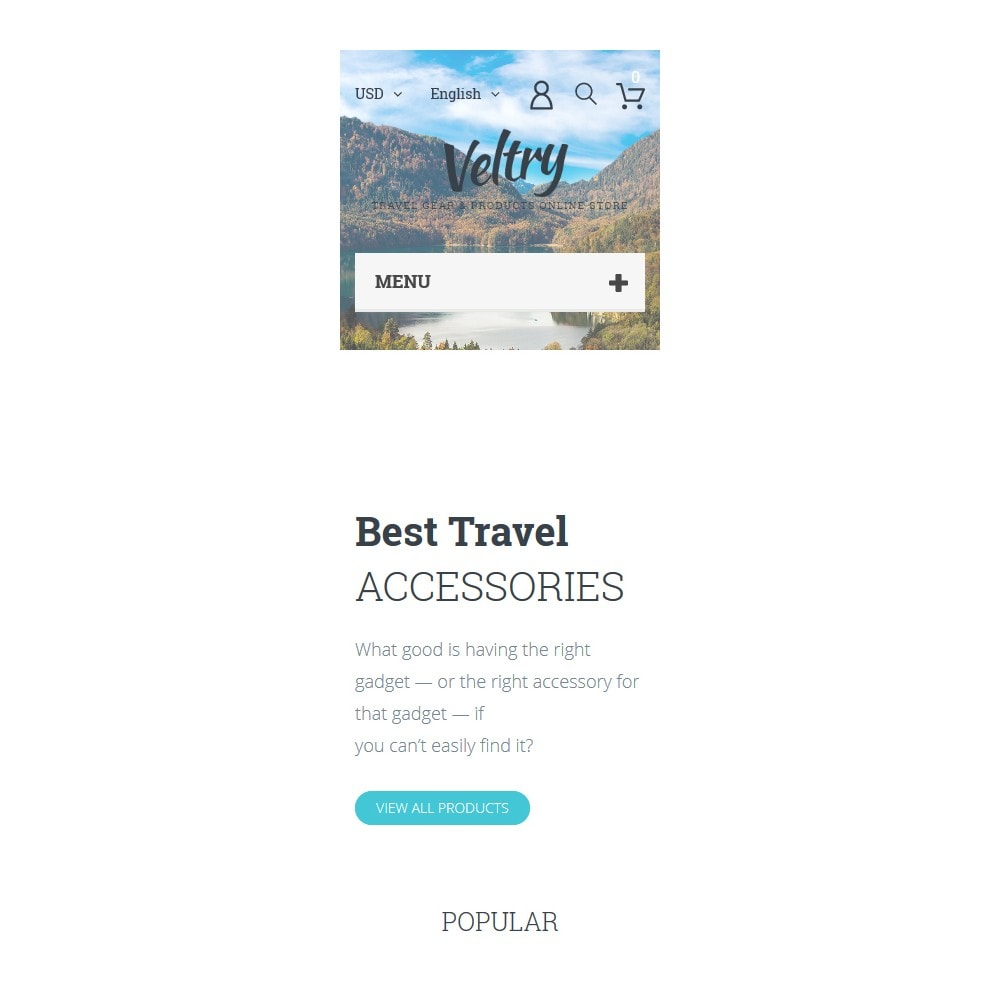 theme - Sports, Activities & Travel - Veltry - Travel Store - 9
