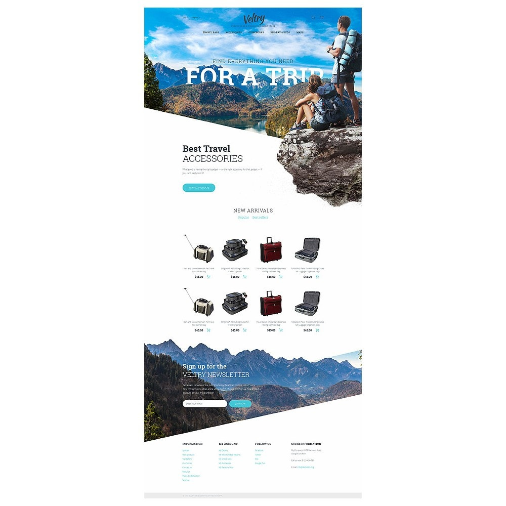 theme - Deportes, Actividades y Viajes - Veltry - Travel Store - 10