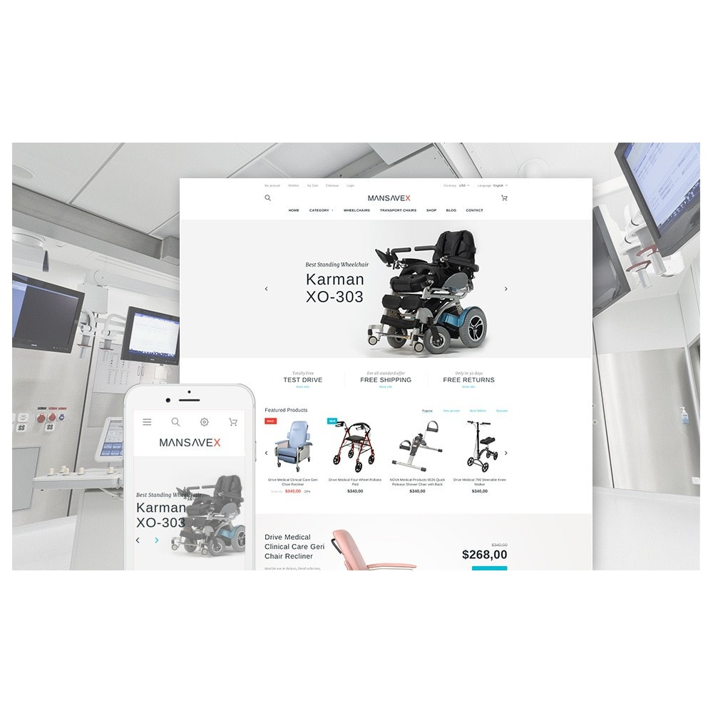Mansavex - Medical Equipment