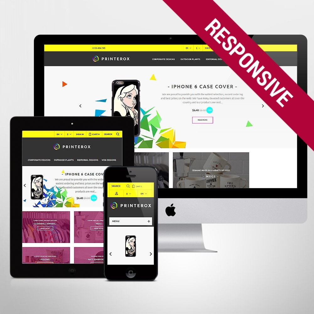 theme - Art & Culture - Printerox Design Responsive - 1