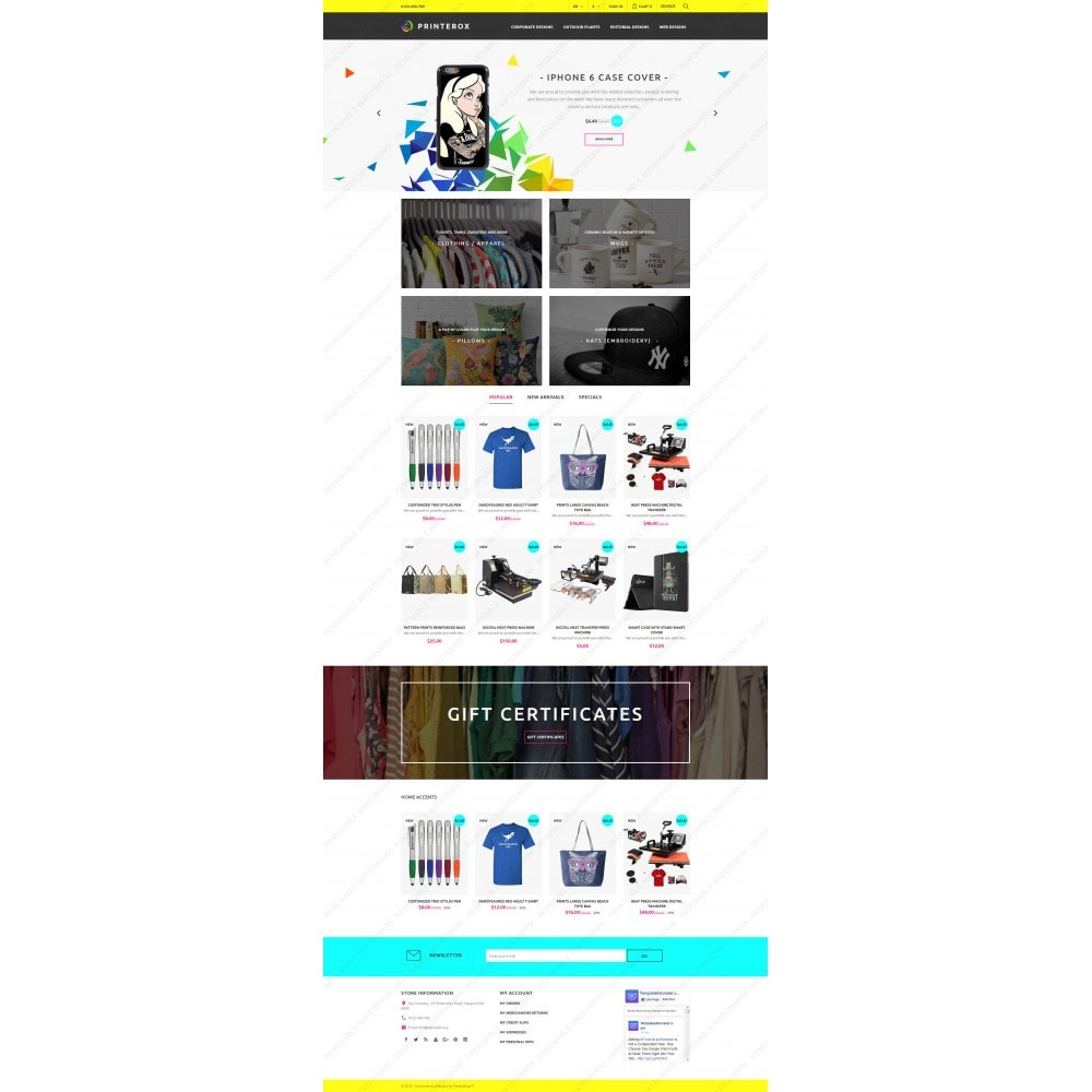 Printerox Design Responsive