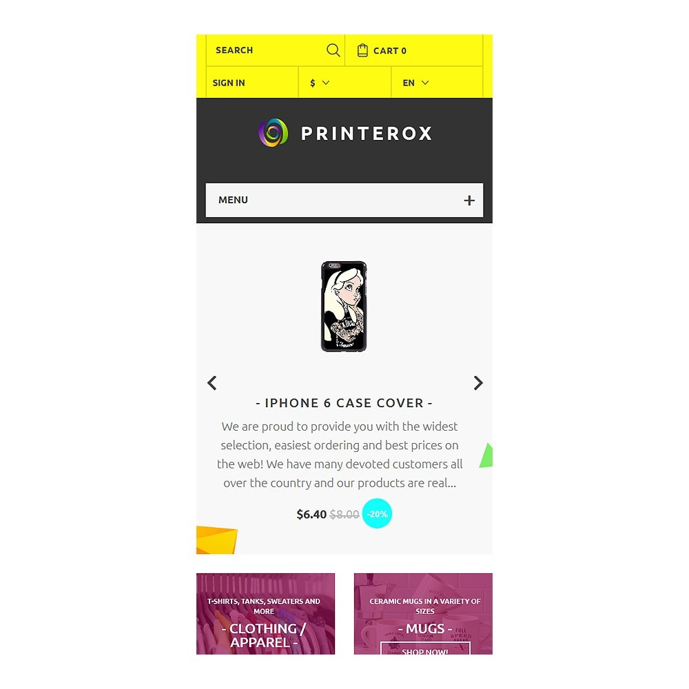 theme - Art & Culture - Printerox Design Responsive - 9