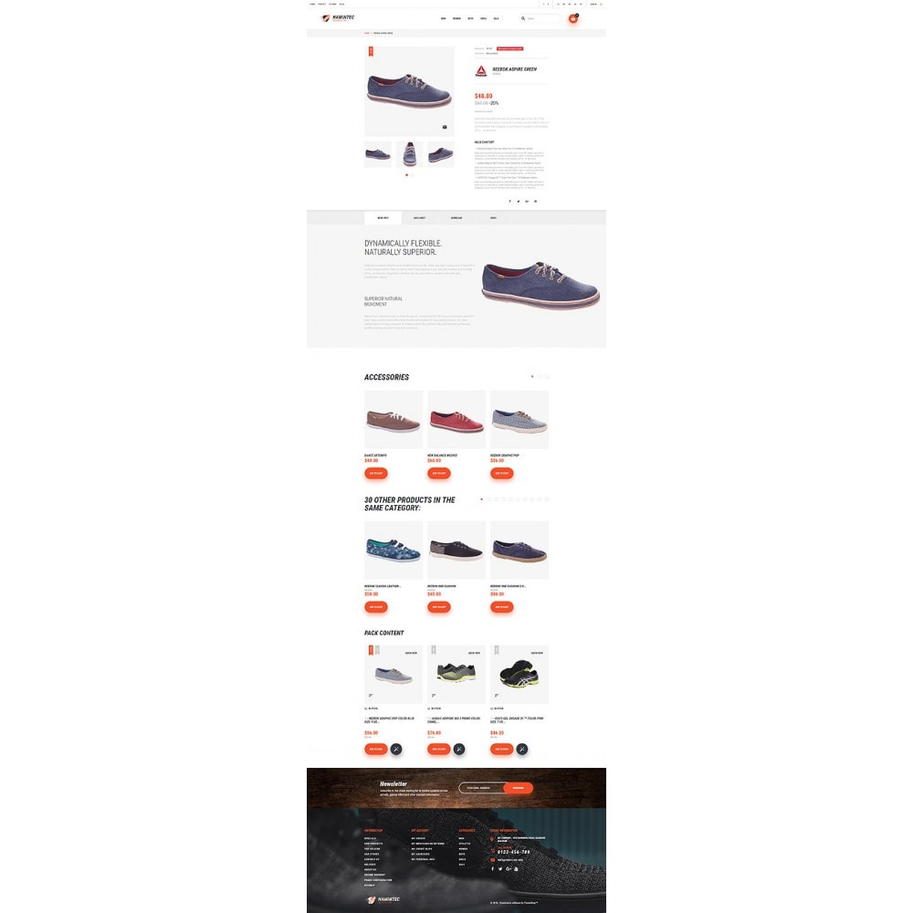 theme - Fashion & Shoes - Hamintec - Sneakers Store - 6