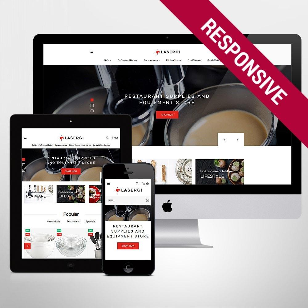 theme - Food & Restaurant - Glasergi - Cookware & Appliances - 1