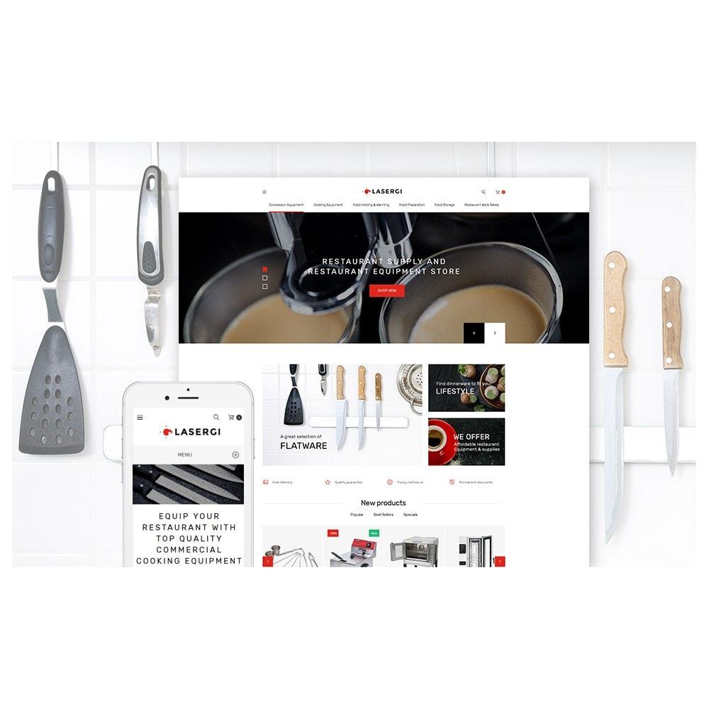 theme - Food & Restaurant - Glasergi - Cookware & Appliances - 2