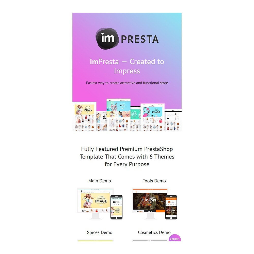 theme - Food & Restaurant - imPresta - Multipurpose - 7