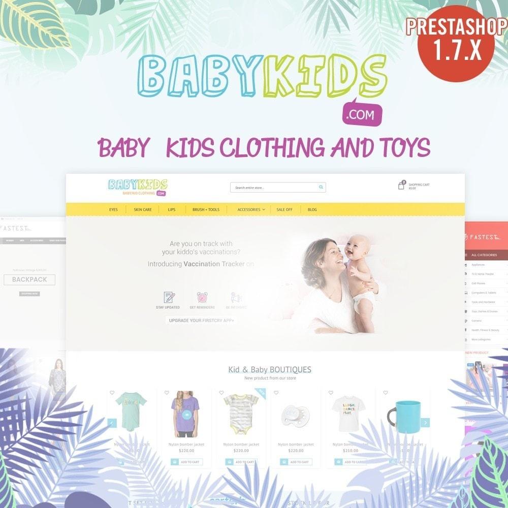 theme - Zabawki & Artykuły dziecięce - Kids & Toys - smart responsive Store - 1